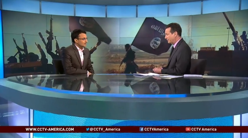 Interview - CCTV - 2014-09-25 - US allies and ISIS